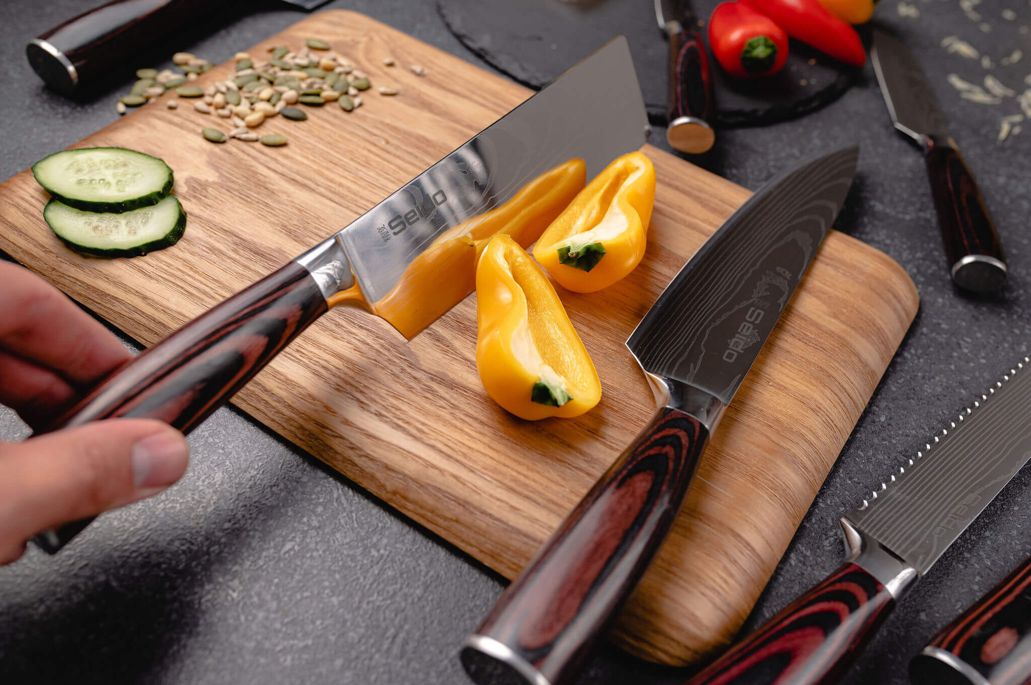 Our passion for cooking and Japanese culture, led us to our passion for creating the best and most affordable Japanese inspired kitchen knives