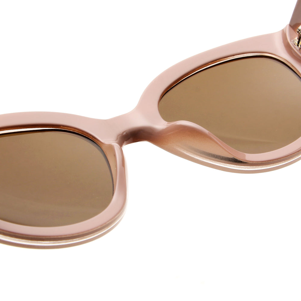 A. Kjærbede Big Winnie Solbrille / Light grey (rosa)