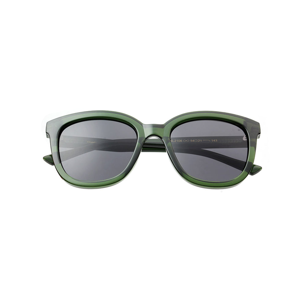 A. Kjærbede Billy Solbrille / Dark green transparent