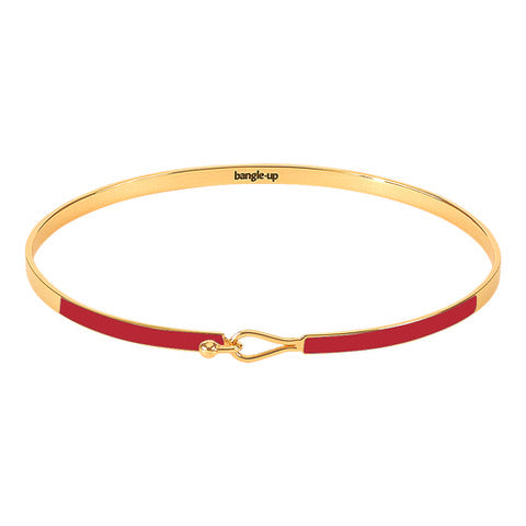 Bangle Up Lily Armbånd / Rouge velours