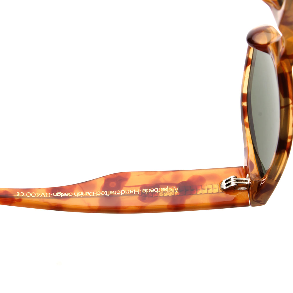 A. Kjærbede Kanye Solbrille / Light Demi Brown Tortoise