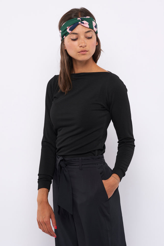 Tolsing Paris Bluse / Black Wool