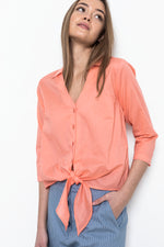 Sophia Lee Frida Shirt / Light peach