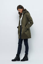 Froks Mathea Winter Jakke / Dark green