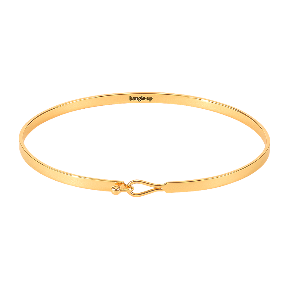 Bangle Up Lily Armbånd / Gold light