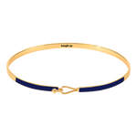 Bangle Up Lily Armbånd / Night blue