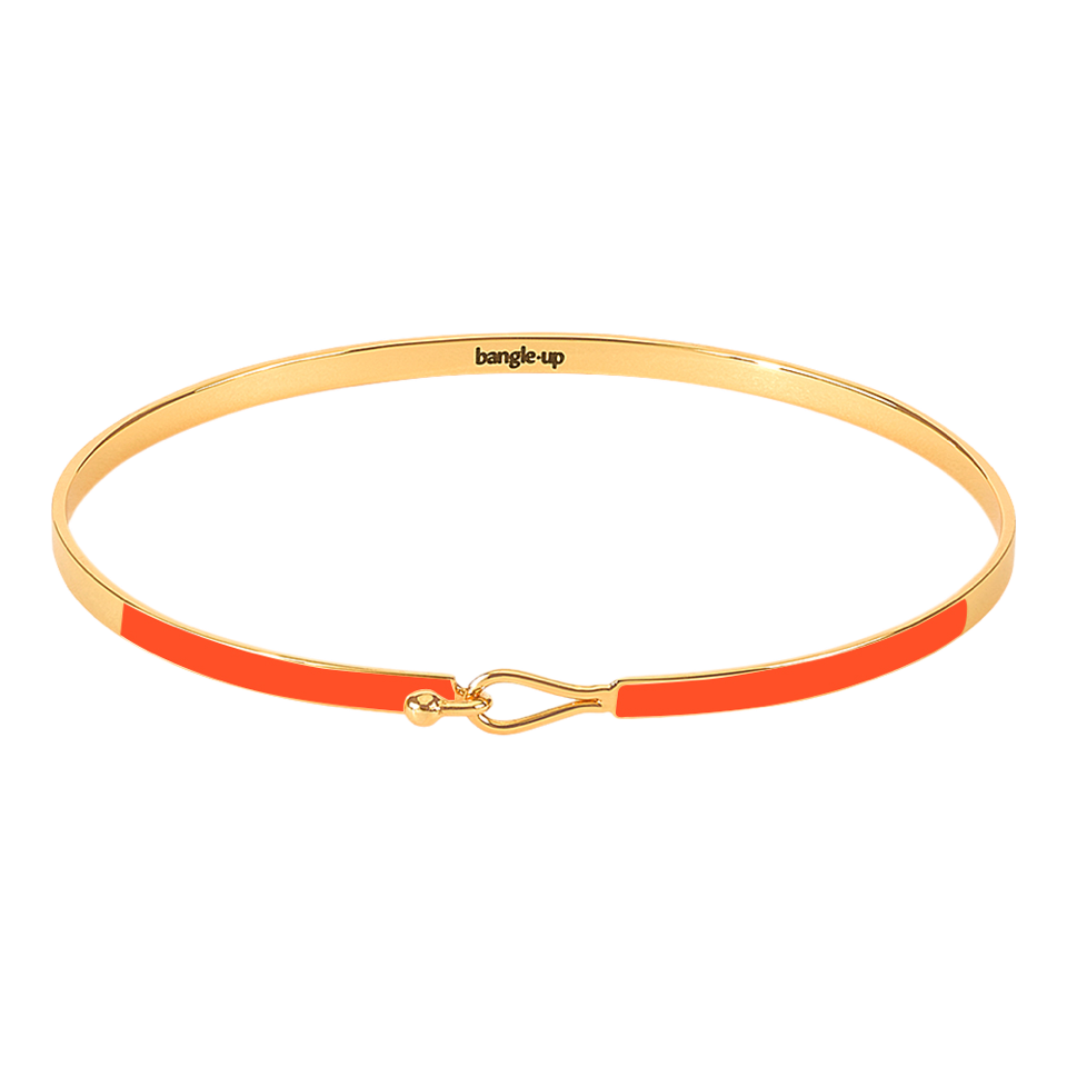 Bangle Up Lily Armbånd / Tangerine