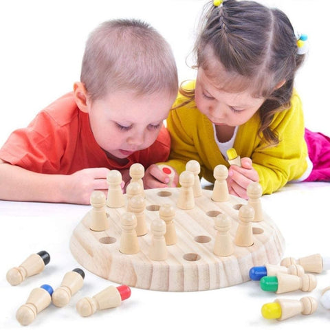 Wooden Memory Match Game - KaTanikids best gifts for baby, best gifts for toddlers, best gifts for kids, unique toys for baby, unique toys for toddlers, unique toys for kids, the best gifts for kids, best toys for kids, best toys for baby, best toys for toddlers, cool toys for kids, cool toys for toddlers, toys web, Web toys