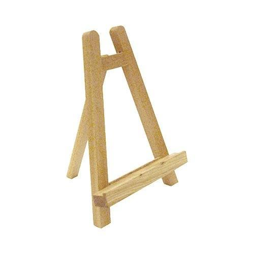 Wooden Stand - H:28 cm x W:19 cm - Soap Scent & Home