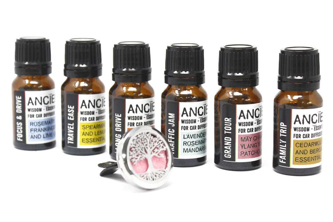 Aromatherapy Car Blend Oils - Various Scents