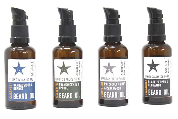 50ml Beard Oils - Various Scents - Soap Scent & Home