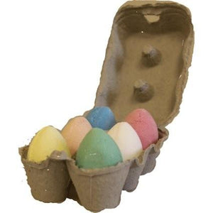 Bath Eggs In a Tray x 6 - Various Scents