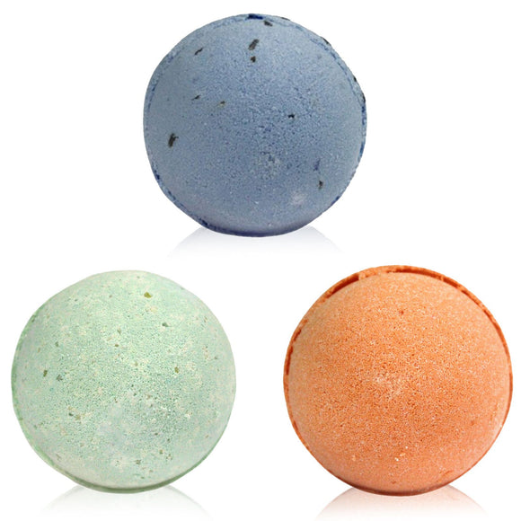 Three Bath Bomb Set - Soap Scent & Home