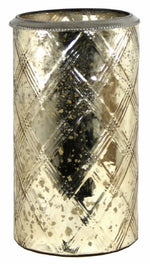 Load image into Gallery viewer, Glass Flower Vase With Various Coloured Metal Rings - Soap Scent & Home