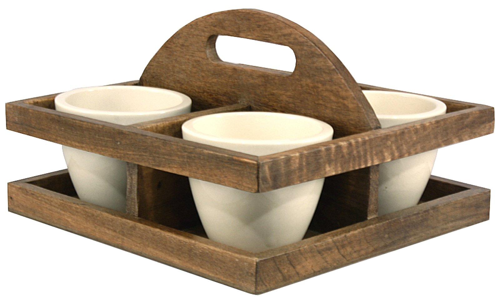 Bowl/Planter Tray with Handle - Soap Scent & Home