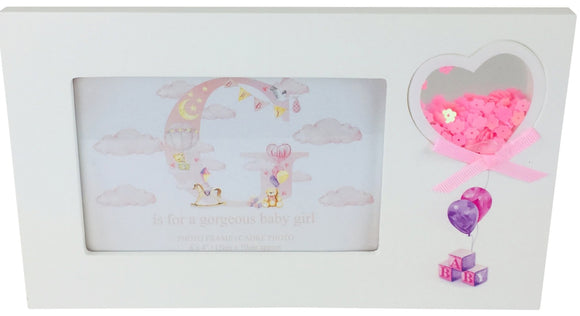 Girl Printed Picture Frames - Soap Scent & Home