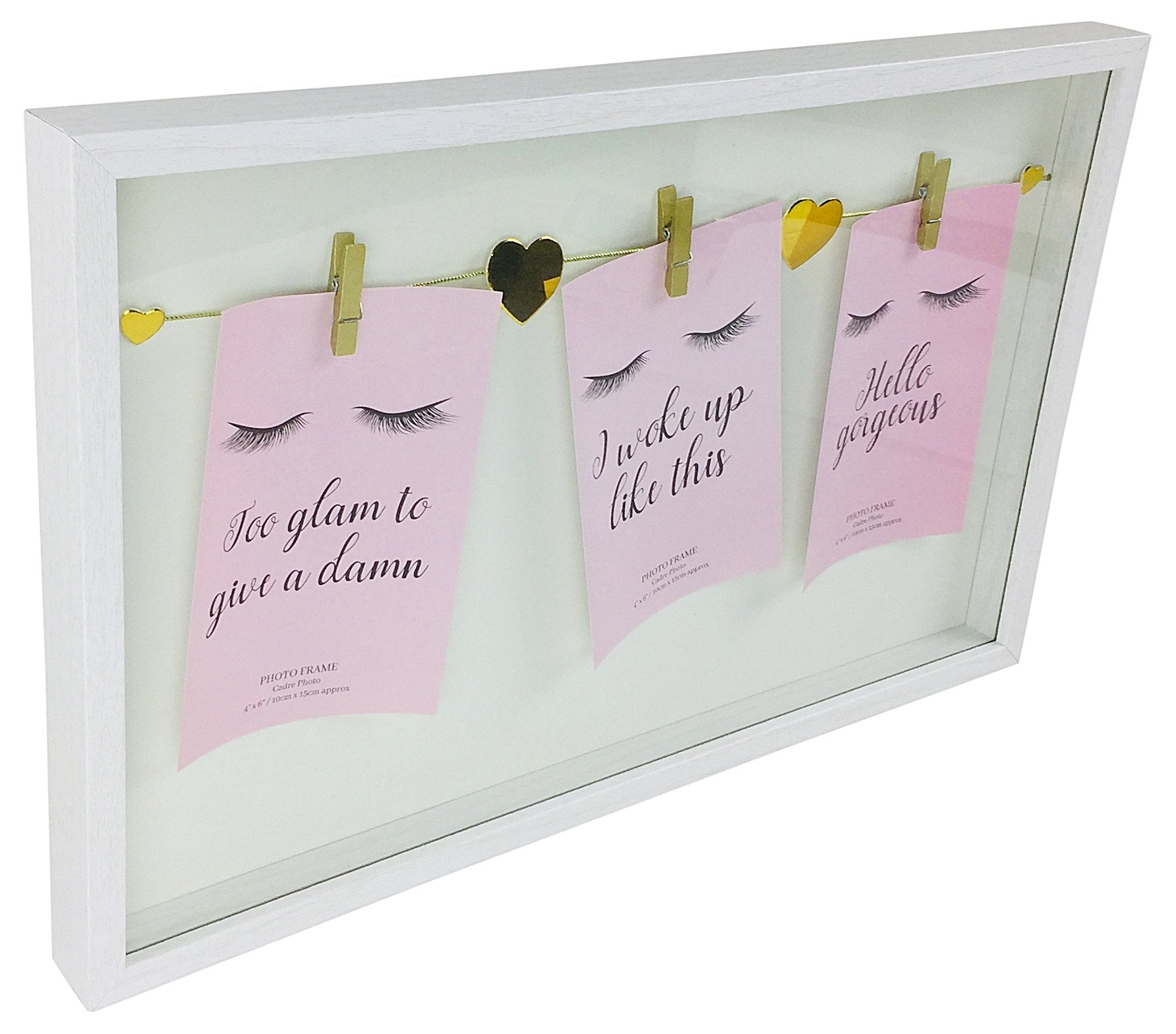 Eyelash Triple Peg Frame Different Colours - Soap Scent & Home