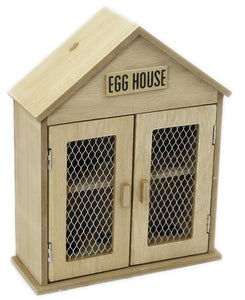 Wooden Two Door Egg House - Soap Scent & Home