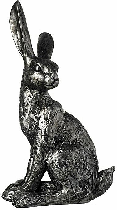 Rustic Resin Hare Ornament 25cm - Soap Scent & Home