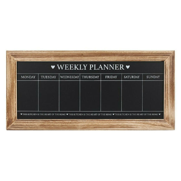 Chalkboard Weekly Planner - Soap Scent & Home