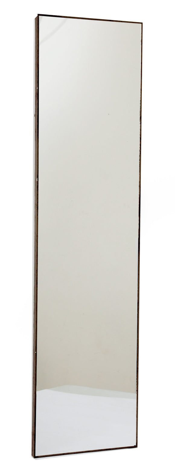 Grey Wood Wall Mirror 121cm - Soap Scent & Home