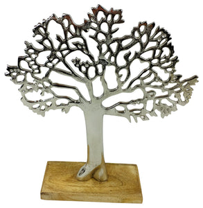 Silver Tree Ornament 26.5cm - Soap Scent & Home