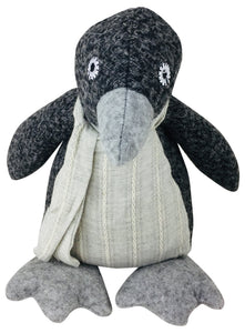 Black Penguin Doorstop - Soap Scent & Home