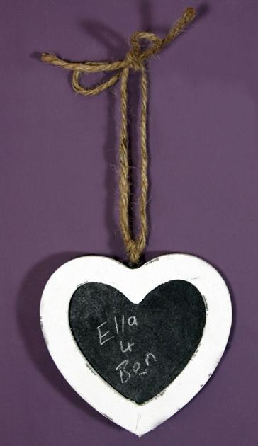 Heart Blackboard Small - Soap Scent & Home