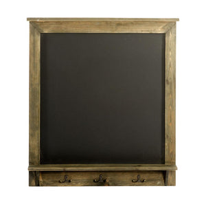 Vintage Chalkboard with Hooks 64 x 8 x 71 cm - Soap Scent & Home