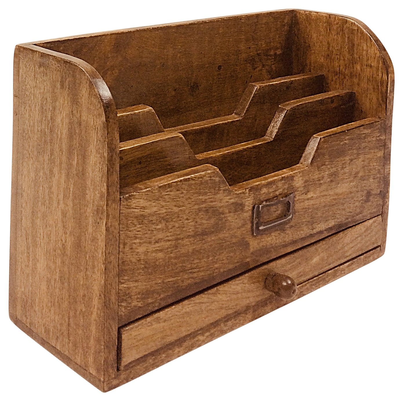 Letter Rack with Drawer - Soap Scent & Home