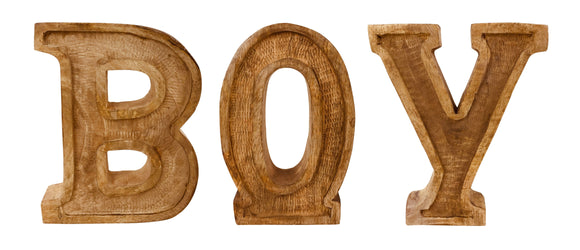 Hand Carved Wooden Embossed Letters - View For Various Words - Soap Scent & Home