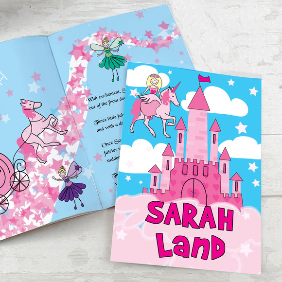 Personalised Princess & Unicorn Story Book - Soap Scent & Home
