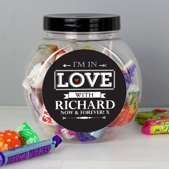 Personalised I'm In Love With Sweets - Soap Scent & Home