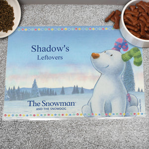 Personalised The Snowdog Pet Placemat - Soap Scent & Home
