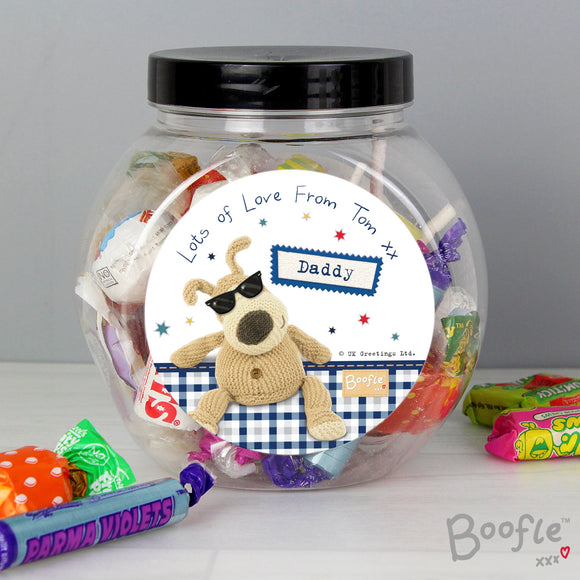 Personalised Boofle Stars Sweet Jar - Soap Scent & Home