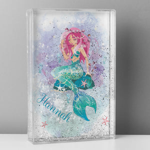 Personalised Mermaid Glitter Shaker - Soap Scent & Home