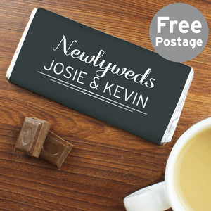 Personalised Classic Milk Chocolate Bar - Soap Scent & Home
