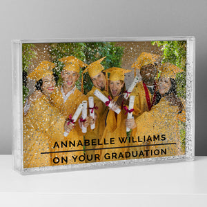 Personalised Classic 6x4 Glitter Shaker Photo Frame