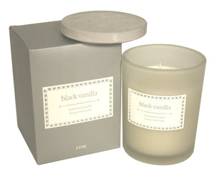 Glass Candle - Various Scents - Soap Scent & Home