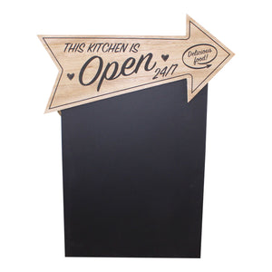 Kitchen Open Arrow Chalk Board