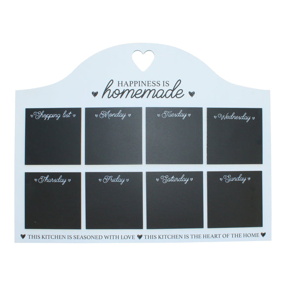Heart Of The Home Weekly Blackboard Kitchen Planner - Soap Scent & Home