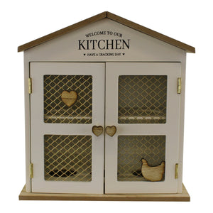 Welcome To Our Kitchen Egg House, Storage