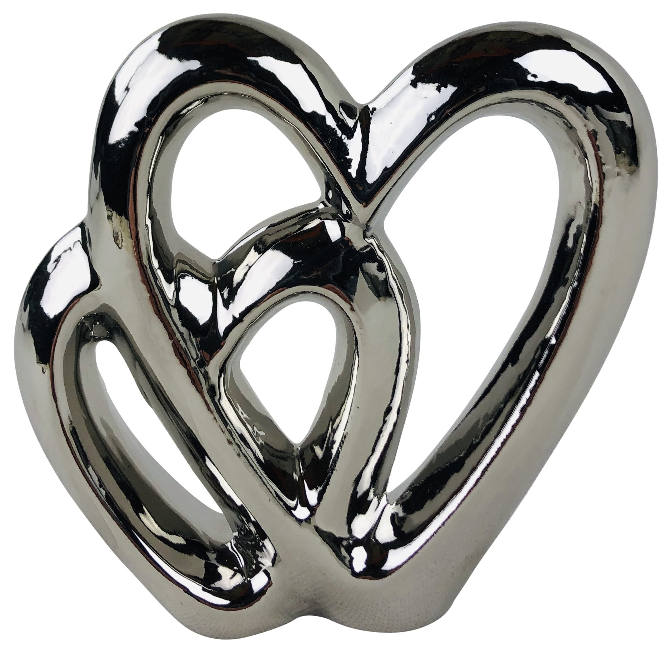 Double Heart Ornament 15cm - Soap Scent & Home