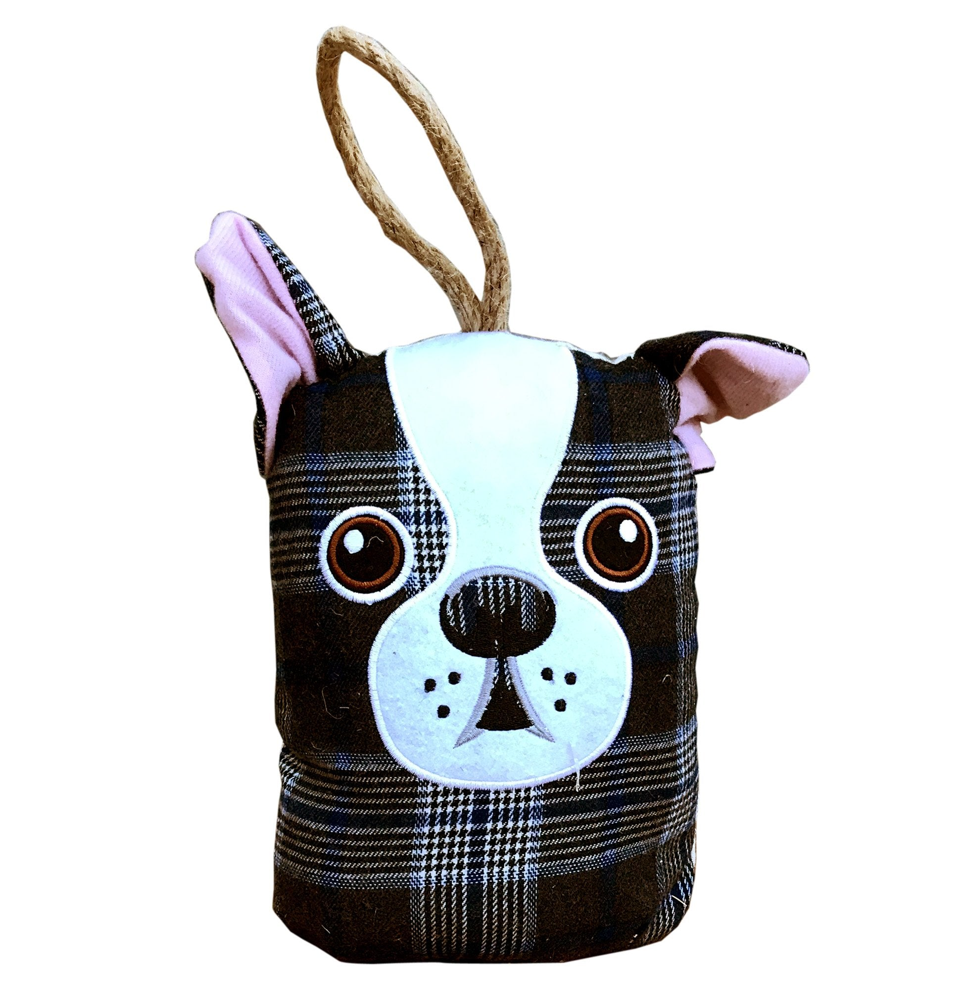 Dog Head Doorstop- Different Patterns - Soap Scent & Home