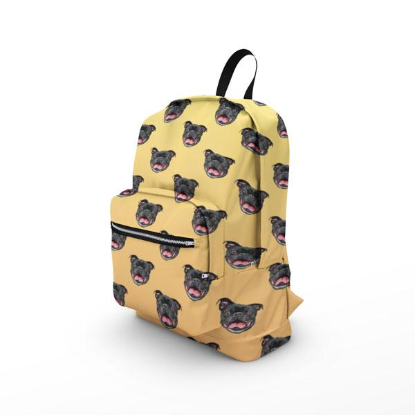 Custom Pet Art Backpack - Pop Your Pup!™