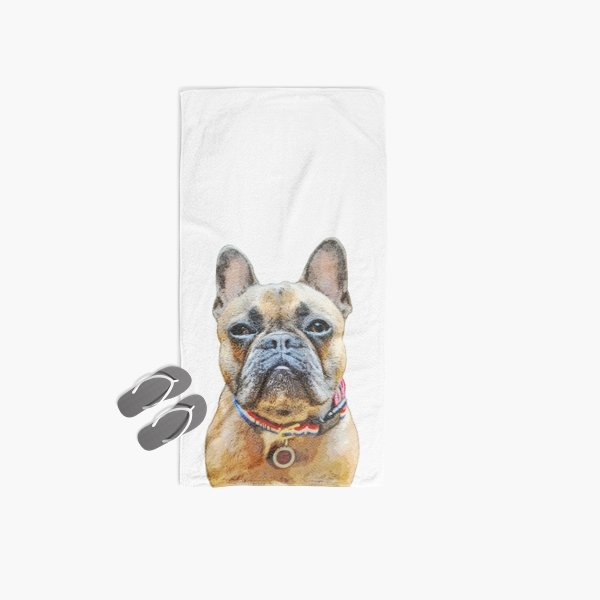 Custom Pet Art Beach Towel - Pop Your Pup!™