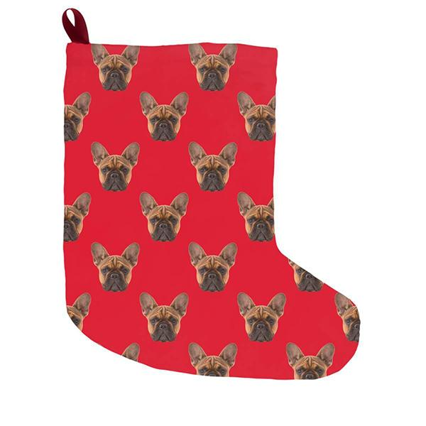 Custom Pet Art Christmas Stockings - Pop Your Pup!™