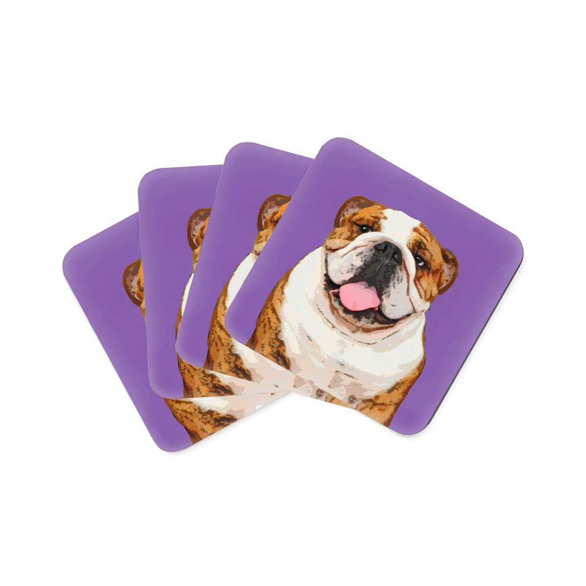 Custom Pet Art Coasters - Custom pet art of your dog or cat by pop-your-pup