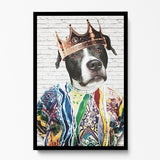 Custom Pet Art Framed Print - Pop Your Pup!™