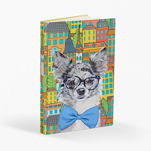 Custom Pet Art Journal - Pop Your Pup!™